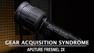 Aputure Fresnel 2x vs Fresnel Mount v1