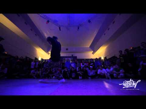 Well B vs Uzee Rock | Space Cyphers 2013