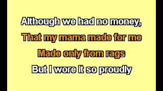 Dolly Parton - Coat Of Many Colors [Karaoke].mpg