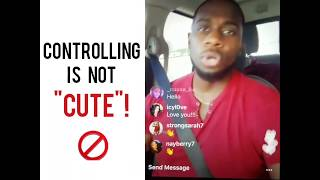 """CONTROLLING IS NOT """"CUTE""""! 🚫      IG Live Chat"""