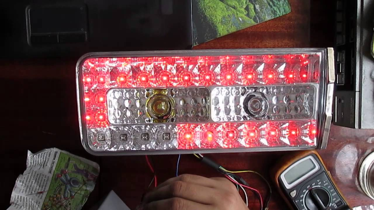 Задние фонари 2106 своими руками