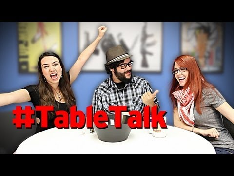 Table Talk: Swords. Google Glass. & Adult Cartoons!
