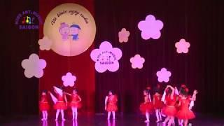 Bé học múa ba lê - Tiết mục Kachiusa
