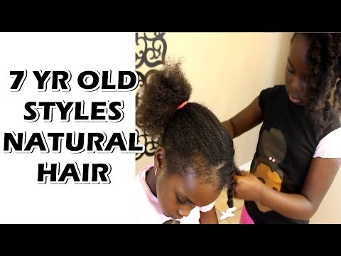 7 Year Old Natural Hair Stylist