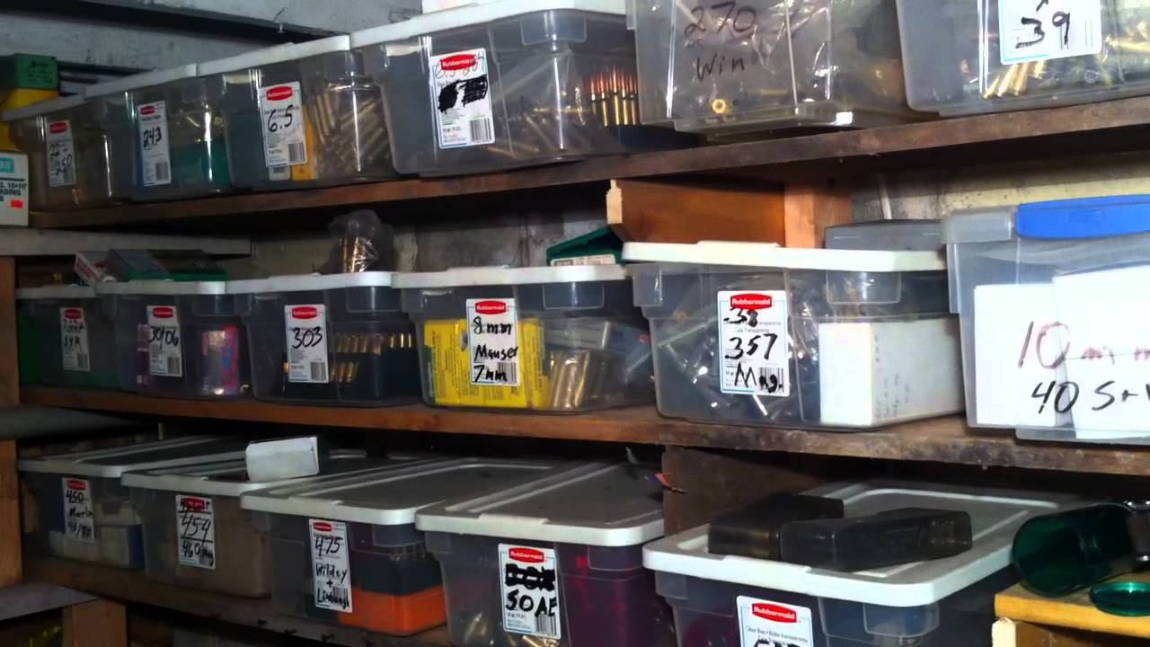 Ultimate Reloading Room - YouTube