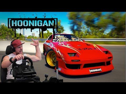 Forza Horizon 3 - HOONIGAN пробуем дрифт