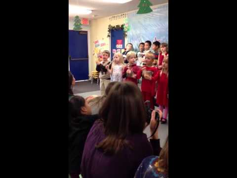 Leo Singing Carmel Mountain Preschool 2