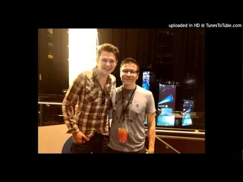 Jason Bowers w/ Damian McGinty from Glee