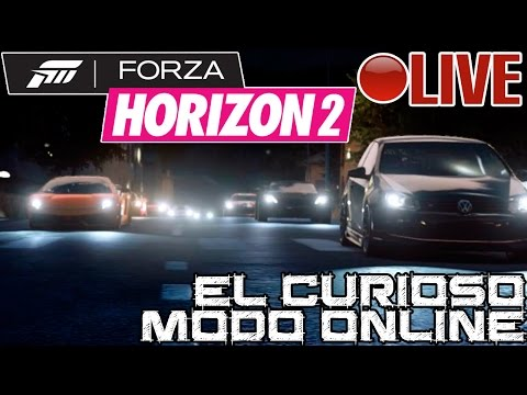 Forza Horizon 2 || El curioso modo Online || LIVE #ForzaHeikki