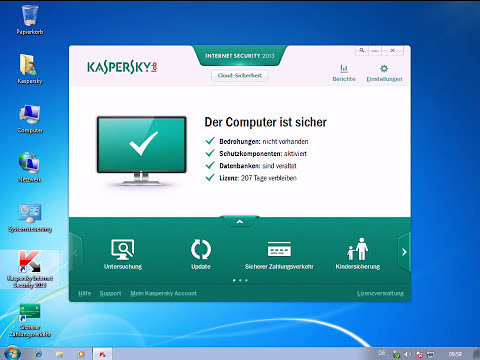 Kaspersky Internet Security 2013 - Installation / Update durchführen