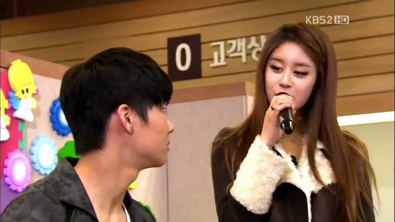 Jiyeon and JB Together