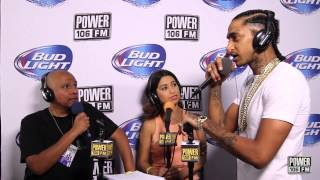 Nipsey Hussle's Thoughts on Women on Tour