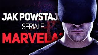 Superbohaterskie seriale Marvela od zaplecza! Wyjazd do USA z Netflix