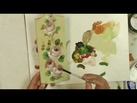 Watch How to Paint Roses Paint It Simply.flv