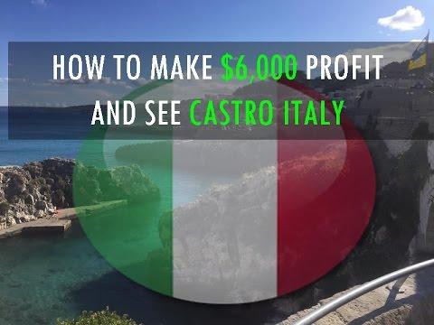 Up $6,000 In Profits Trading Stocks From Italy Beaches - World Traveler Diary