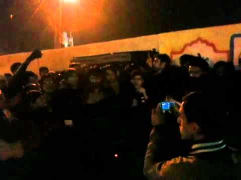 Ali Shanawar & Ali Jee Live Arbaeen Night Infront Of Haram-e-
