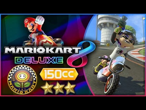 Mario Kart 8 Deluxe - Part 3 | Flower Cup 150cc Triple-Star! [Nintendo Switch Gameplay]