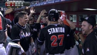 Stanton smacks a go-ahead homer in the ninth