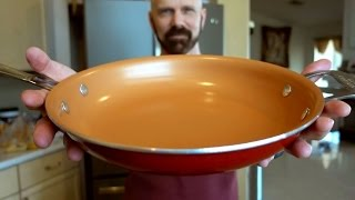 Red Copper Pan Review (12 inch): 21 Day Test