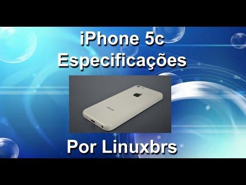 Apple iPhone 5C - 16 Gb iOS 8 - Especificações - PT-BR - Brasil