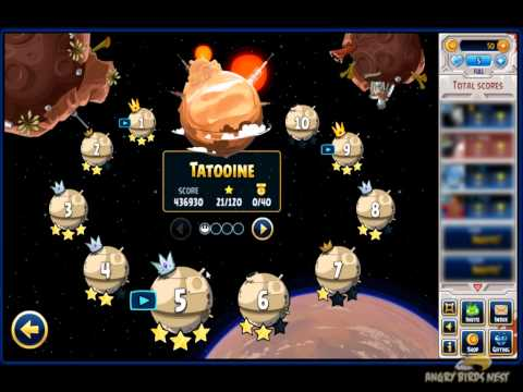 Angry Birds Star Wars Facebook First Look at Gameplay. Tournament. Power-ups
