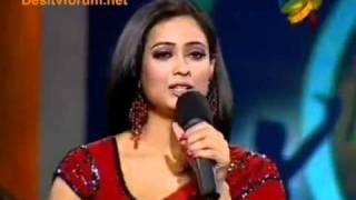 Shweta tiwari meets her daughter Palak in dance sangram (touching scene)