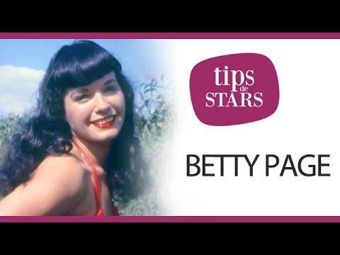 La frange roulée de Betty Page