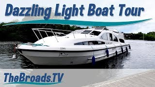 Norfolk Broads - The Dazzling Light Hire Boat Tour