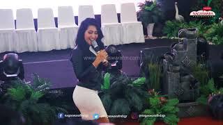 Ayusari Tuh Kan Live Launching Nagas Ange7s 2018