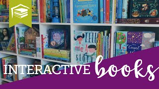 Interact, Create, & Experience with BOOKS!