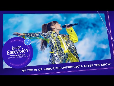 MY TOP 19 | JUNIOR EUROVISION 2019 | AFTER THE SHOW | The Eurovision Fan