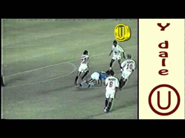 UNIVERSITARIO 3 - cristal 1 (Copa Libertadores 1993)