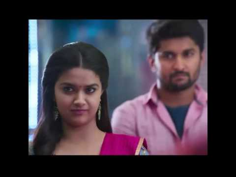 Keerthy Suresh & Nani in Nenu Local Teaser