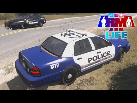 Arma 3 Life Police - Pursuit Turns Into Shooting