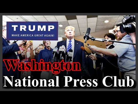 LIVE Donald Trump Foreign Policy The National Press Club Washington DC Speaks SPEECH HD STREAM ✔