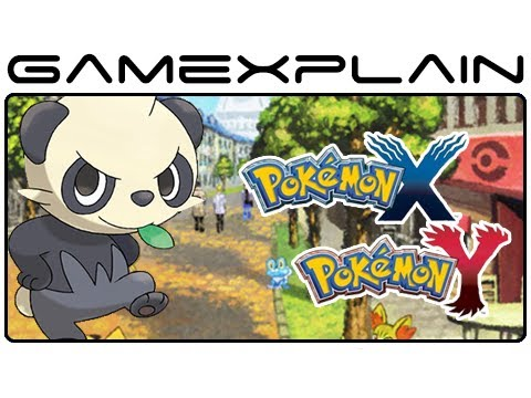 Pokemon X & Y Screenshot & Artwork Slideshow (Nintendo 3DS)
