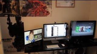 NEW 2012 GAMING SETUP! OMG BEAST!! WOW!