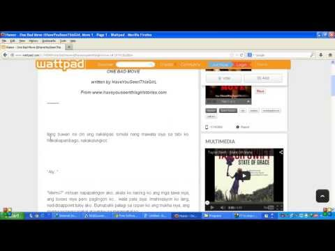 How to copy or select text on wattpad (if you don't know how to download stories)