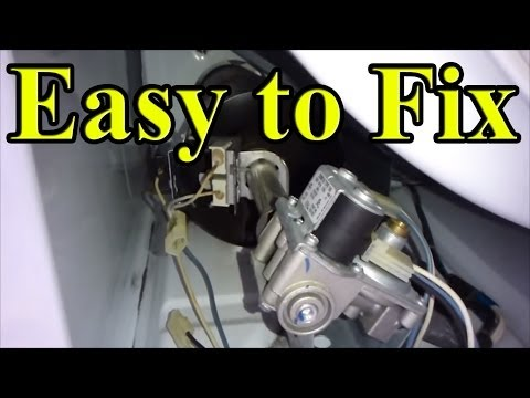 How to Fix YOUR gas Dryer that is not heating up (Part 2- front panel)