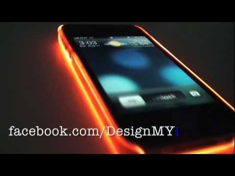Super Glow Glowing iPhone