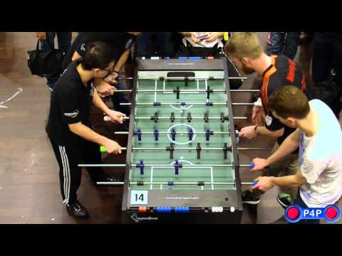 Foosball (Table-Soccer) Maritim Open 2014, Open Doubles Final