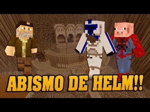 Defensa del Abismo de Helm!! - Minecraft con Alexby y Sarinha