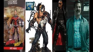 TNINews: New Avengers: Infinity War Marvel Legends Figures Found, One12 Blade, Deadpool 2 & More