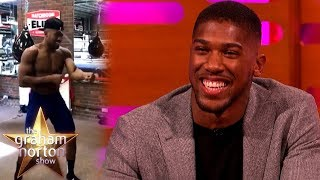 Anthony Joshua Has Some Very Interesting Training Techniques | The Graham Norton Show