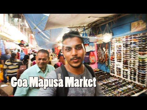 Mapusa Market Goa Vlog