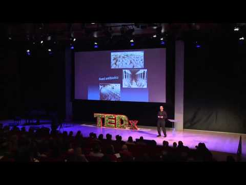 Raising pigs & problems -- saying no to antibiotics in animal feed: David Wallinga at TEDxManhattan