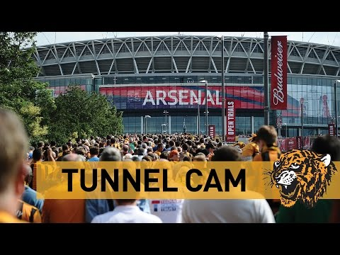 Hull City v Arsenal | FA Cup Final With Budweiser | Tunnel Cam