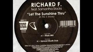 Richard F. feat. Samantha Stock - Let The Sunshine Thru (Radio Edit)