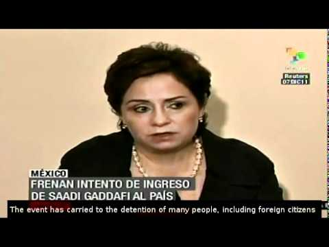 Mexico stops entry of Saadi Gaddafi