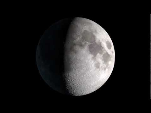 NASA | Moon Phase & Libration 2013: Moon Only